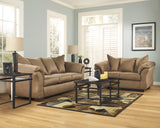 Darcy Mocha Sofa and Loveseat - Ashley shop at  Regency Furniture