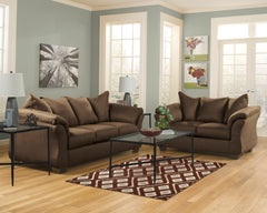 Darcy Cafe Sofa and Loveseat - Ashley shop at  Regency Furniture
