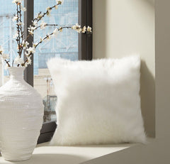 Himena White Pillow - Ashley shop at  Regency Furniture