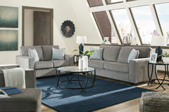 Altari Sofa and Loveseat- Alloy