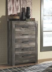 Wynnlow Gray 5-Drawer Chest