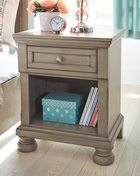 Lettner One-Drawer Nightstand