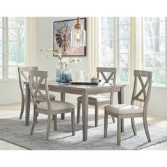 Parellen Table & 4 Side Chairs