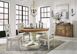 Grindleburg Dining Room Table 6 Side Chairs & Server