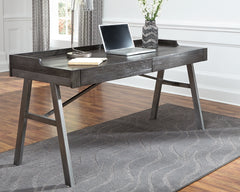 Raventown Grayish Brown  Home Office Desk