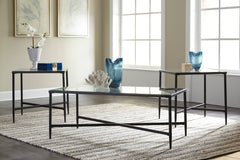 Augeron - Black - Occasional Table Set (set of 3)