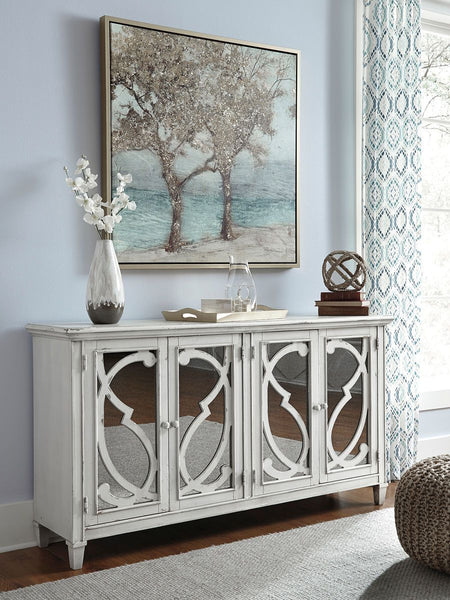 Mirimyn Gray Door Accent Cabinet - Ashley shop at  Regency Furniture