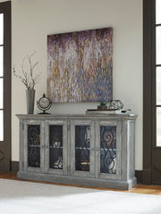 Mirimyn Antique Gray Door Accent Cabinet - Ashley shop at  Regency Furniture