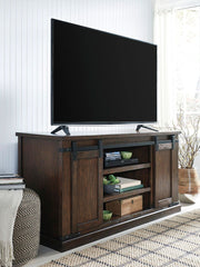 Budmore Rustic Brown Large Tv Stand - Ashley shop at  Regency Furniture