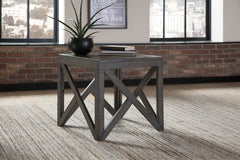 Haroflyn - Gray - Square End Table