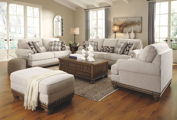 Harleson Wheat Sofa Loveseat & 2 Chair And A Halfs