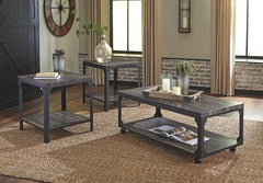 Jandoree - Brown/Black - Occasional Table Set (3/CN)