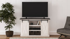 Dorrinson - Two-tone - Medium TV Stand