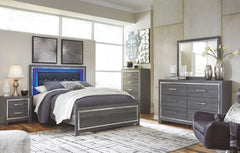 Lodanna Dresser, Mirror & Queen Panel Bed