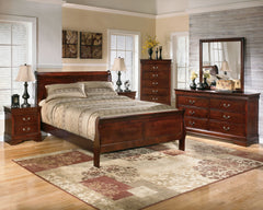 Alisdair King Bed w/ Dresser Mirror & Nightstand