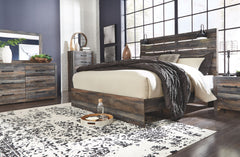 Drystan Multi King Bed w/ Dresser & Mirror