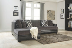 Kumasi Smoke LAF Corner Chaise & RAF Sofa Sectional