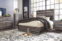 Drystan Multi Queen Bed w/ Dresser & Mirror