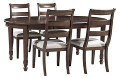 Adinton Table & 4 Side Chairs