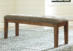 Flaybern - Light Brown - Large UPH Dining Room Bench