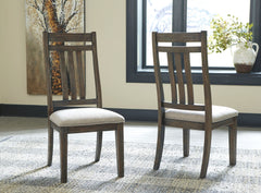 Wyndahl - Rustic Brown - Dining UPH Side Chair
