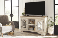 Realyn - Chipped White - Large TV Stand