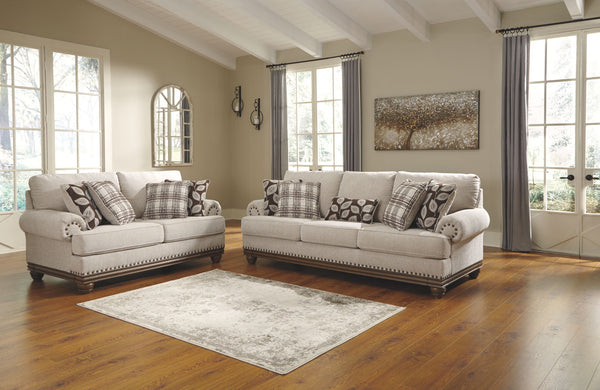 Harleson Wheat Sofa & Loveseat