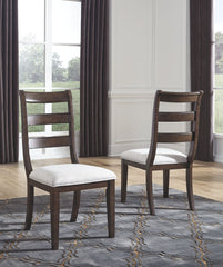 Adinton - Reddish Brown - Dining UPH Side Chair