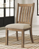 Grindleburg - Light Brown - Dining UPH Side Chair