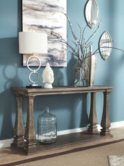 Johnelle - Gray - Sofa Table
