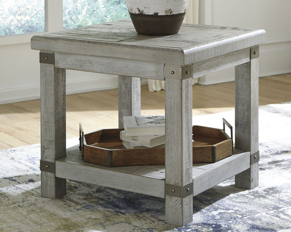 Carynhurst Rectangular End Table