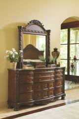 North Shore Dark Brown Dresser Only