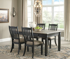 Tyler Creek Table & 4 Side Chairs