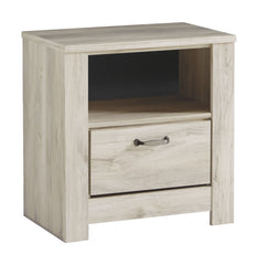 Bellaby - Whitewash - One Drawer Night Stand