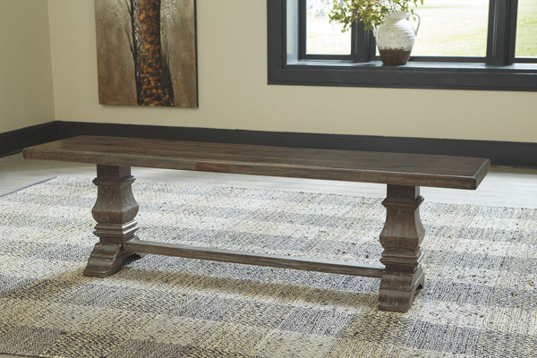 Wyndahl - Rustic Brown - Dining Room Bench