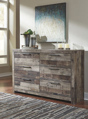 Derekson Multi Gray Dresser Only
