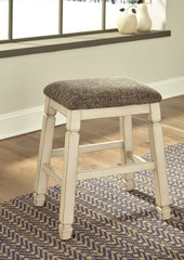 Bolanburg - Two-tone - Upholstered Stool