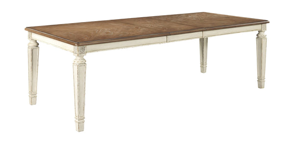 Realyn - Chipped White - RECT Dining Room EXT Table