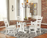 Valebeck White Dining UPH Side Chair