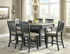 Tyler Creek Table & 6 Barstools