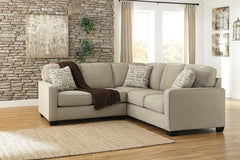 Alenya Quartz LAF Loveseat & RAF Sofa Sectional