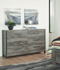 Cazenfeld Black and Gray Dresser Only
