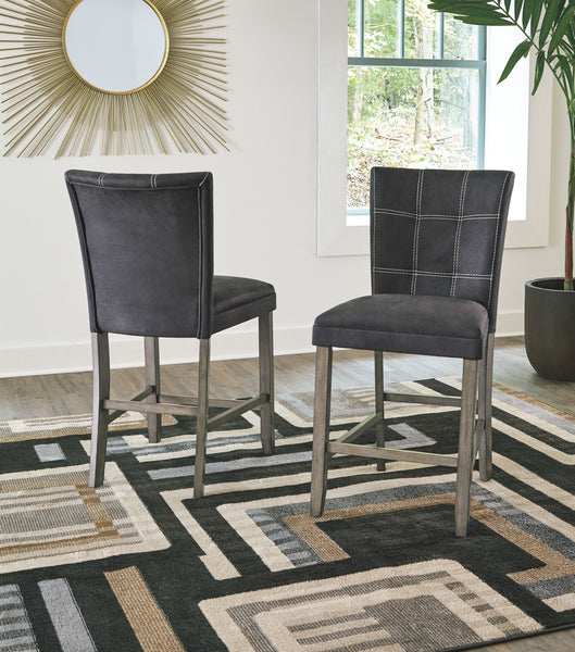 Dontally Two-tone Upholstered Barstool