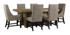 Sommerford Table 4 Side & 2 Arm Chairs