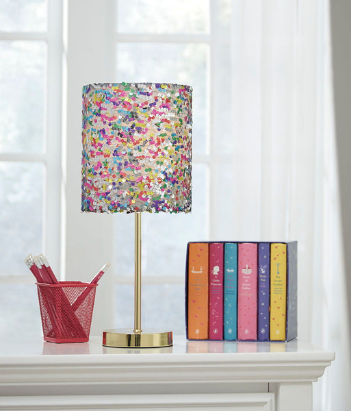 Maddy Multi Metal Table Lamp (1/CN) - Ashley shop at  Regency Furniture