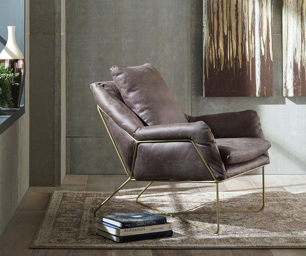 Crosshaven Dark Gray Accent Chair - Ashley shop at  Regency Furniture