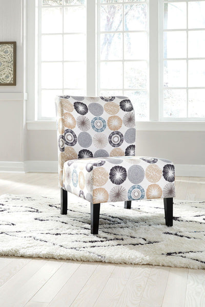 Triptis- Gray/Tan Accent Chair - Ashley shop at  Regency Furniture