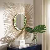 Elspeth- Gold Finish Accent Mirror - Ashley shop at  Regency Furniture