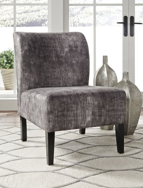 Triptis- Charcoal Accent Chair - Ashley shop at  Regency Furniture