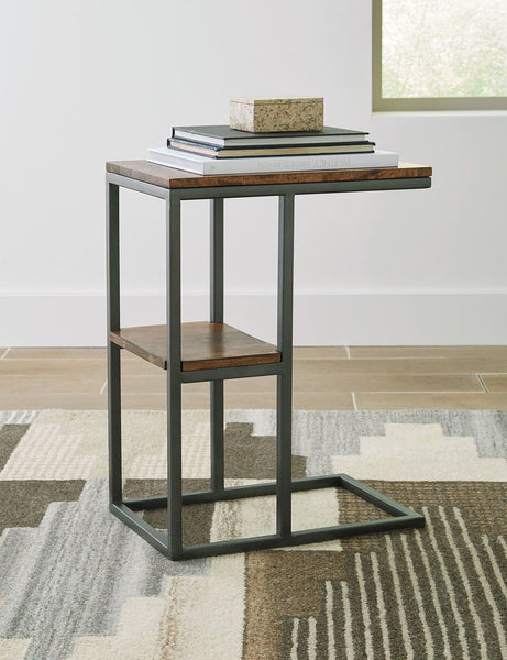 Forestmin Natural/Black Accent Table - Ashley shop at  Regency Furniture